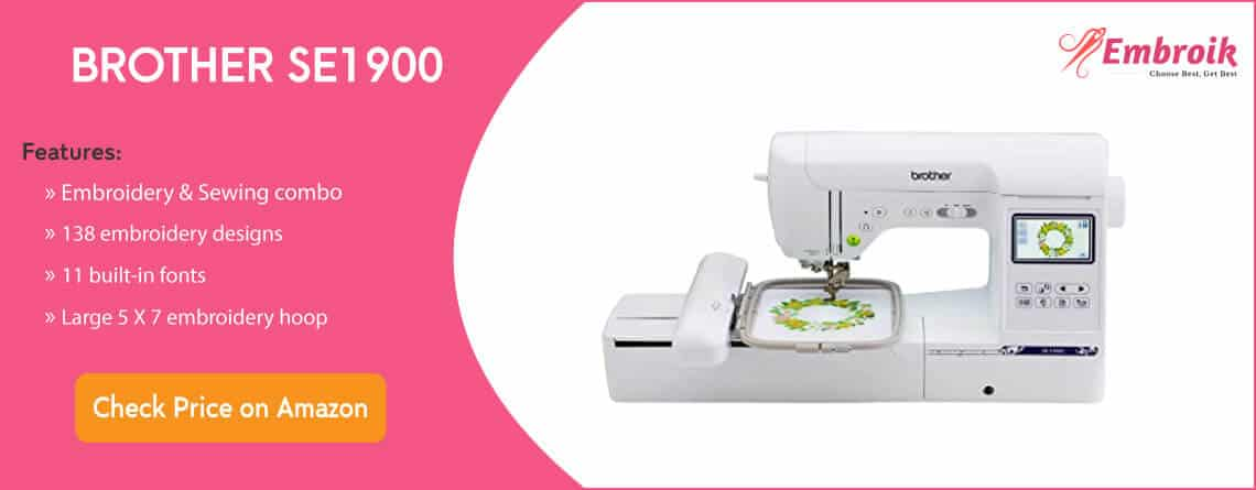 Brother SE1900 Home Embroidery Machine