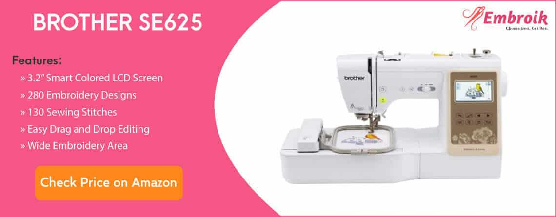 Brother SE625 Embroidery Machine
