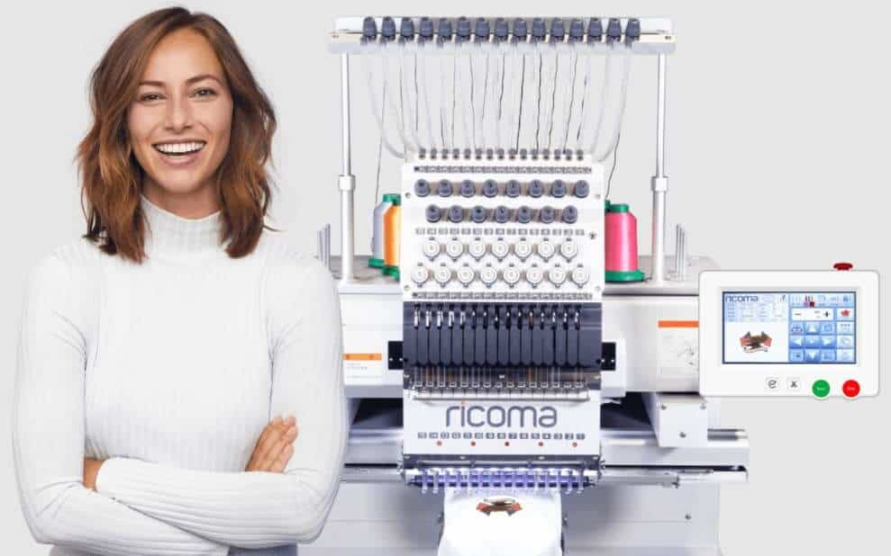 Embroidery Machine User