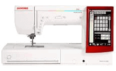 Janome 14000 Best Commerical Embroidery Machine