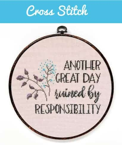 cross stitch for embroidering name