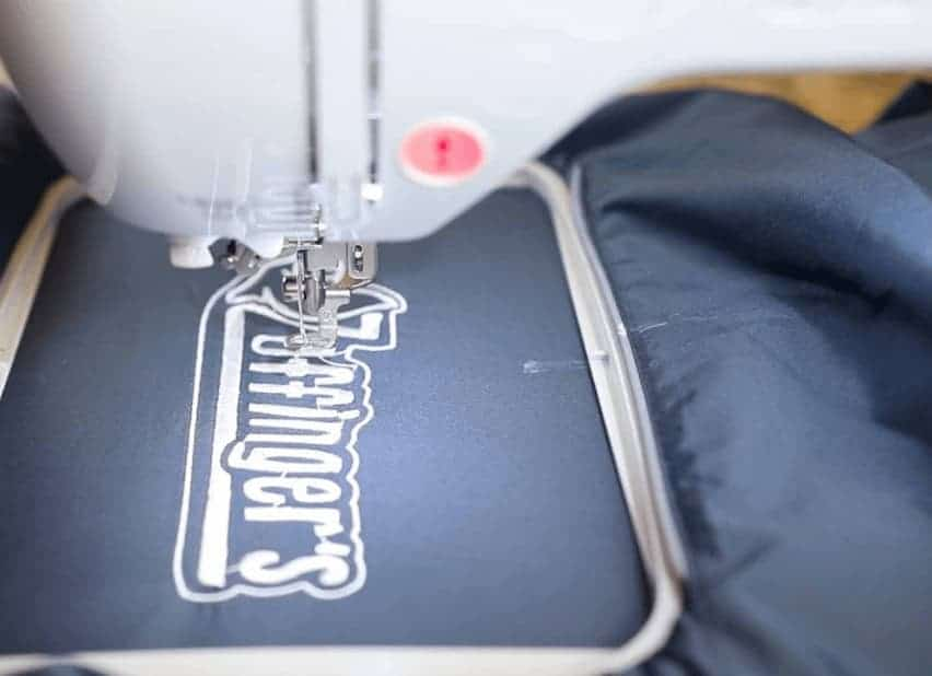 embroider names
