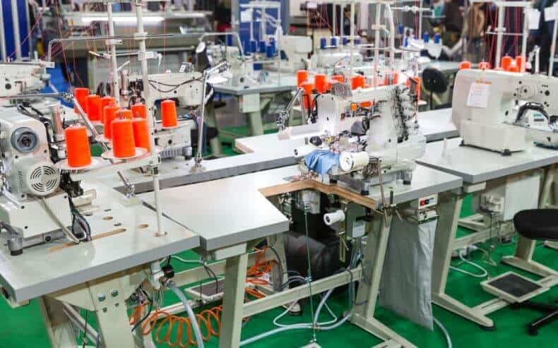 embroidery machines and tables