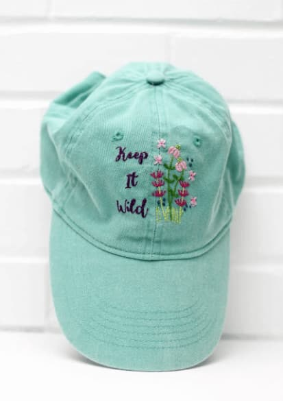 hand embroidery for hats and caps