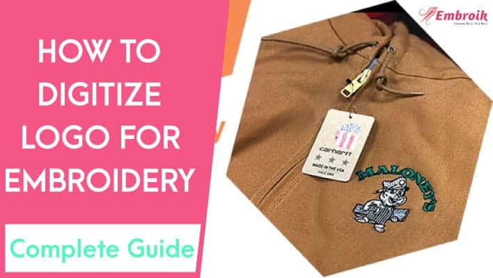 How To Digitize Your Logo For Embroidery